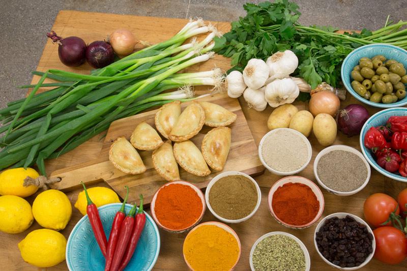 Veganska empanadas för dig som är vegan