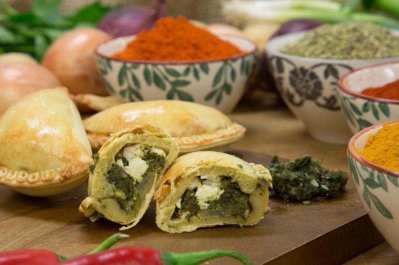 Vegetariska empanadas för dig som inte äter kött eller fisk